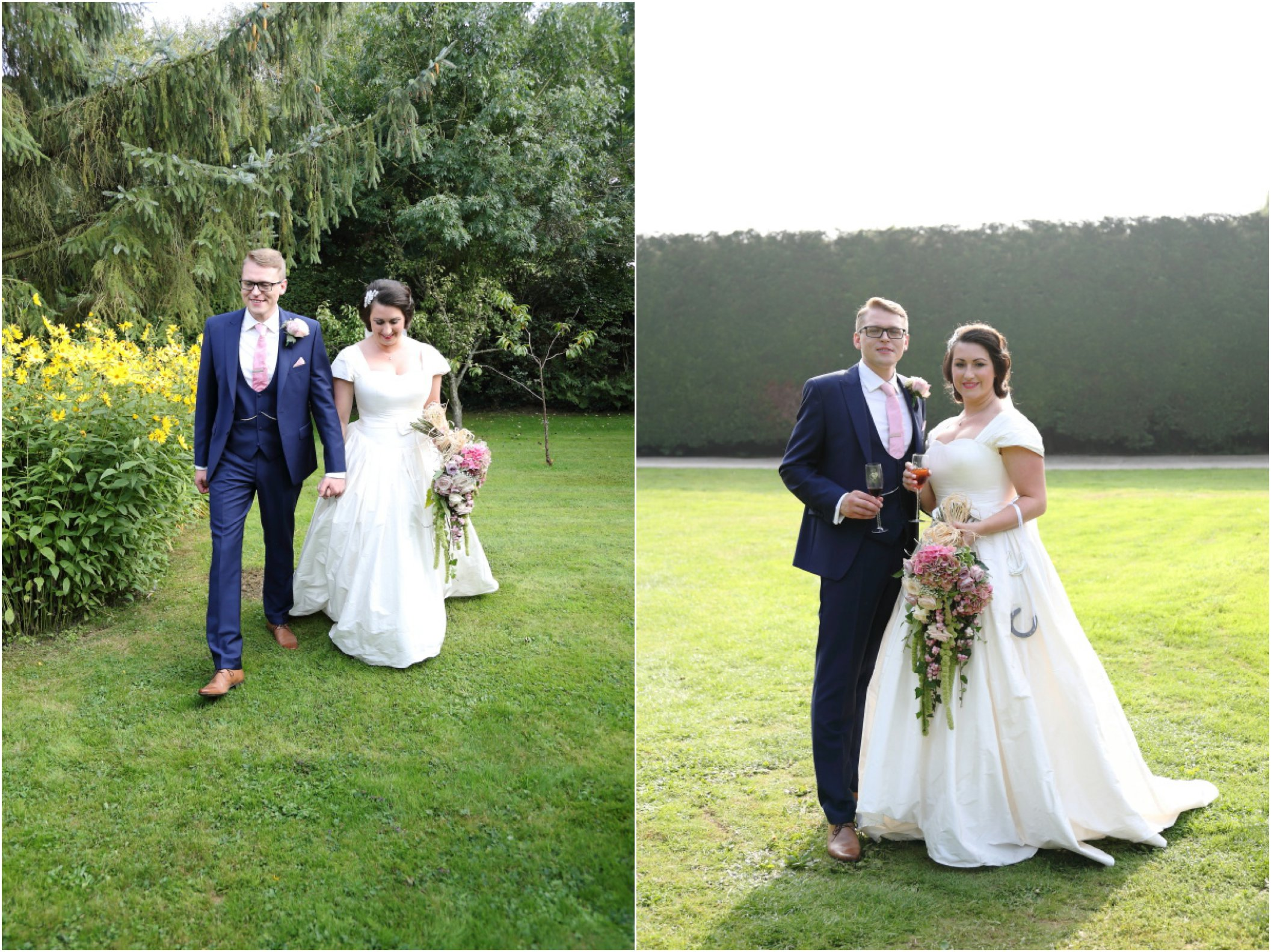 natural pretty essex wedding photography - click through for more images