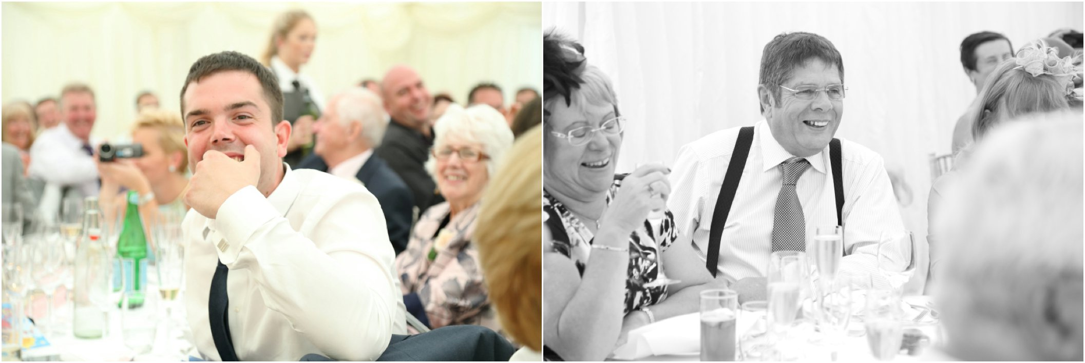 essex wedding photography laughing guests
