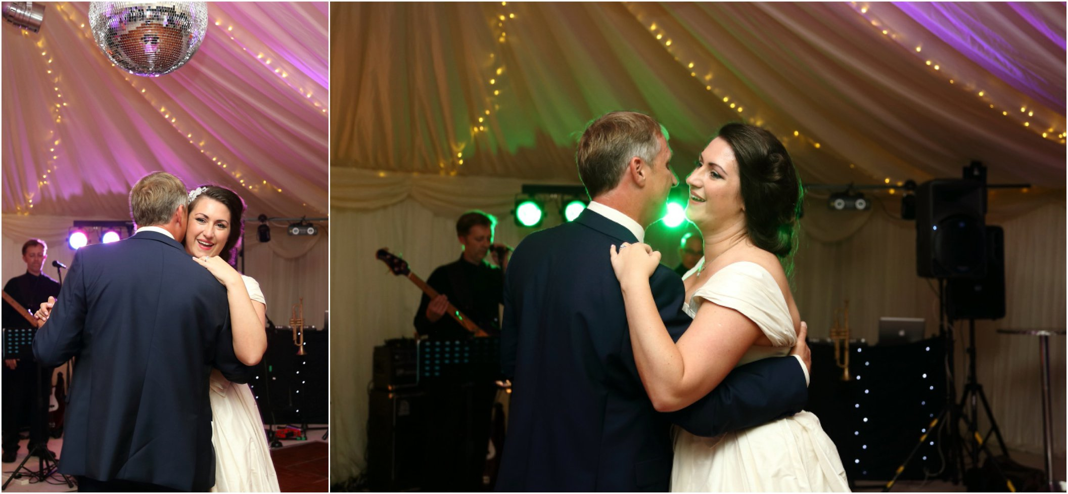 first dance with dad at fabulous classic essex wedding