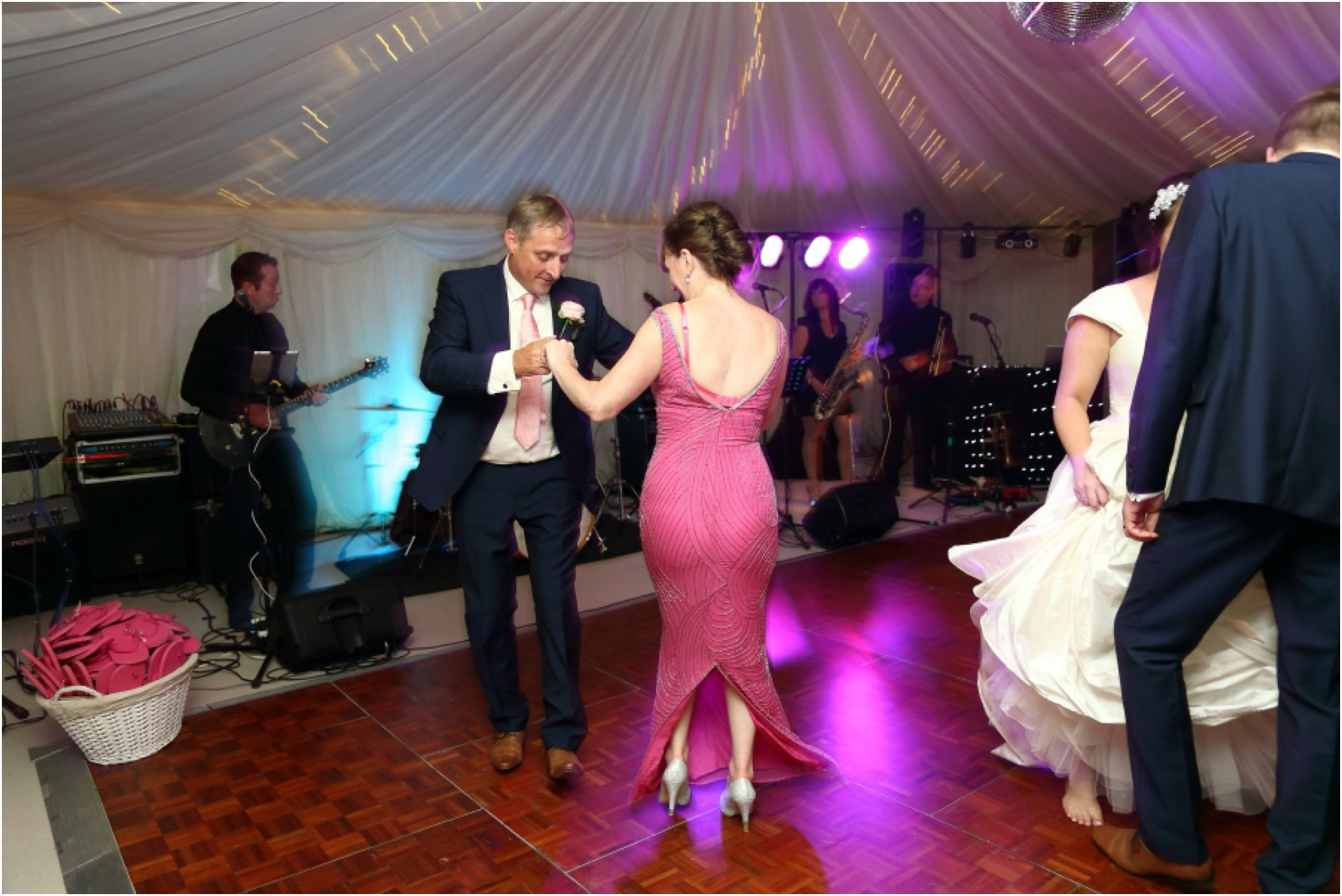 mother and father of the brides first dance essex wedding alternative photography