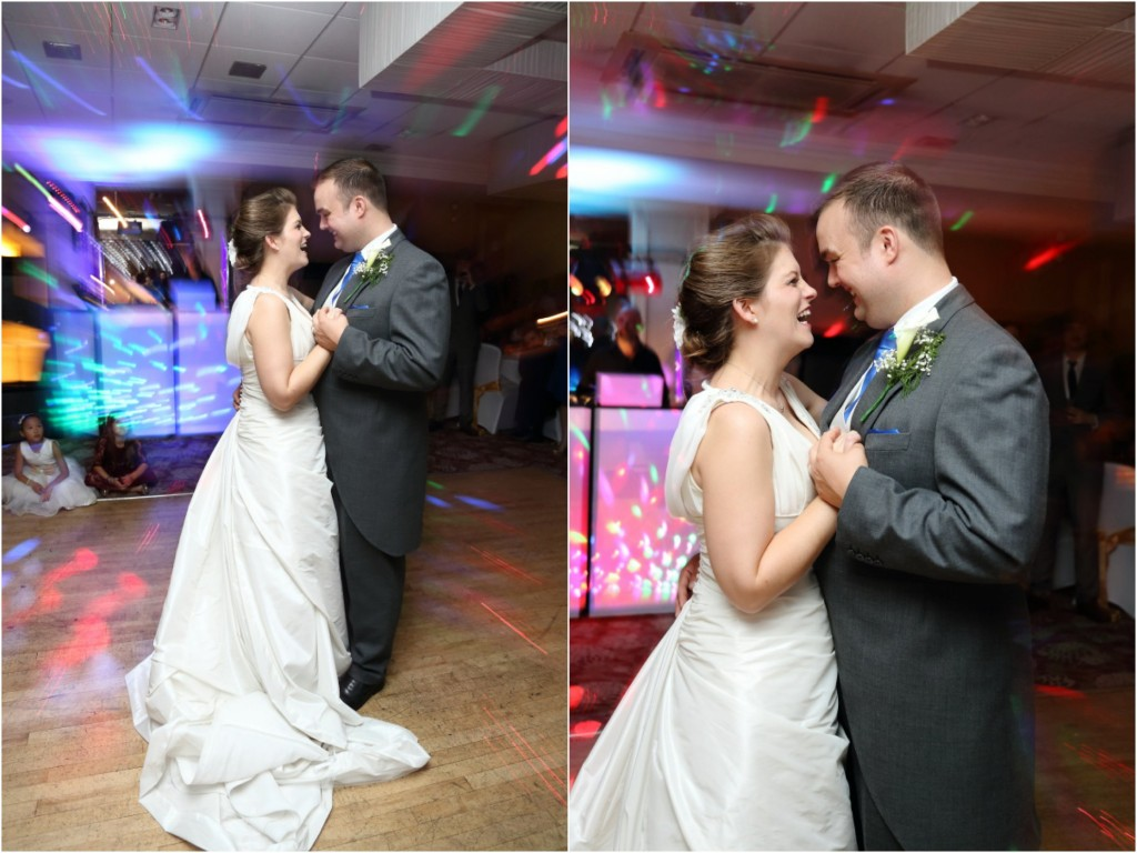 quirky first dance at marks tey wedding