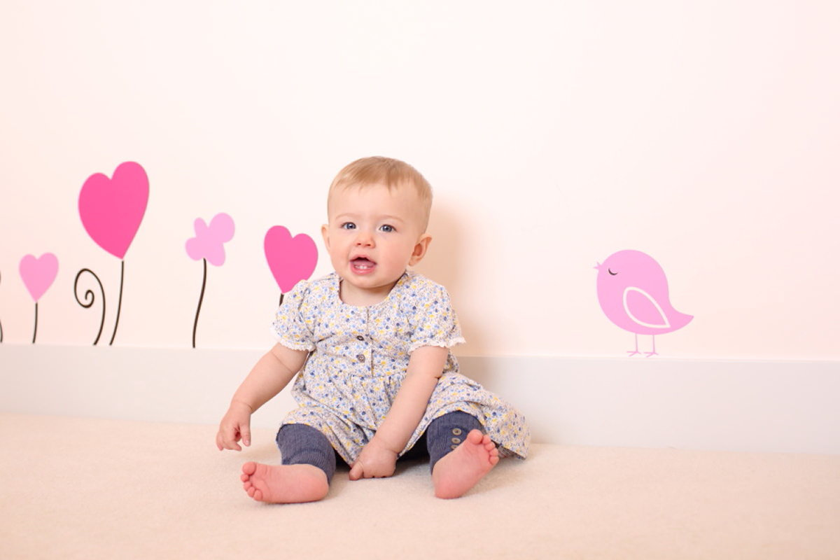 baby photography at home in suffolk