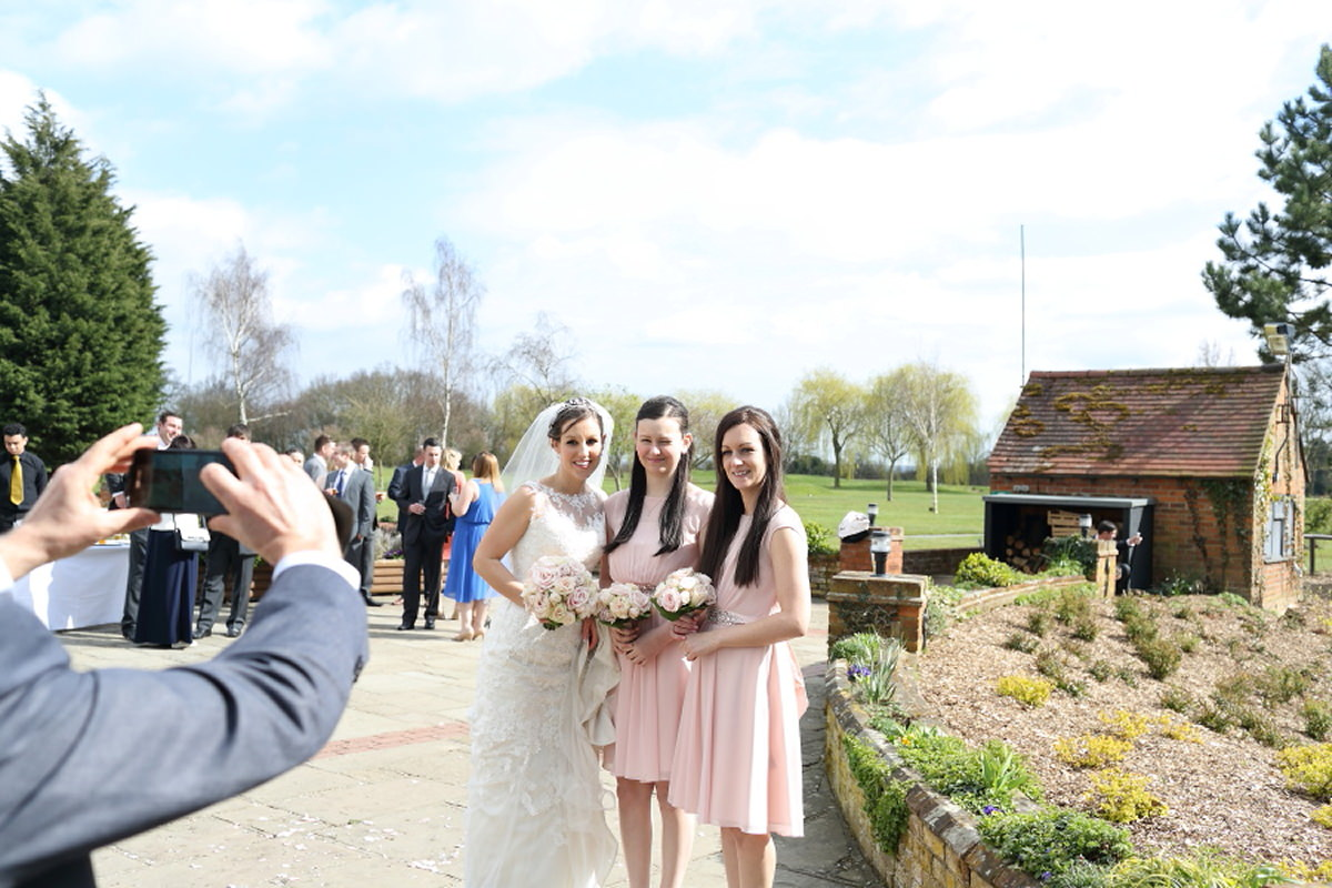 fun relaxed group photography at essex wedding