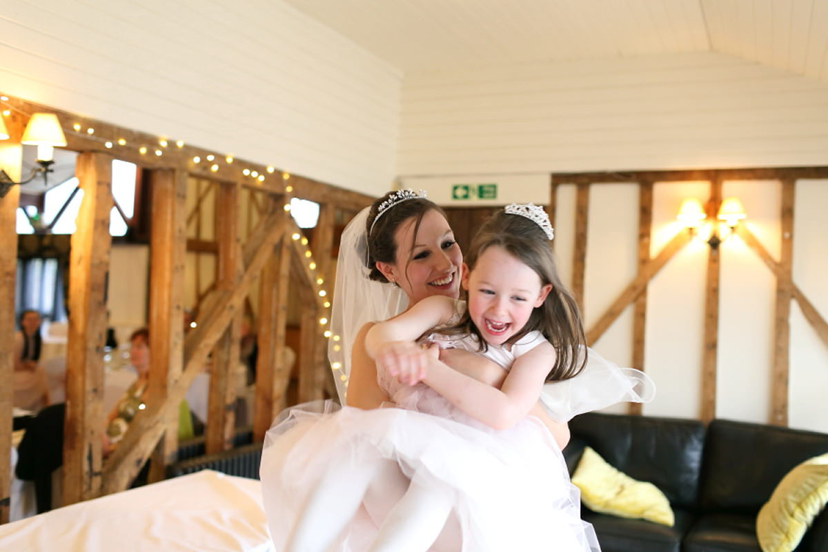 fun wedding photography at channels essex