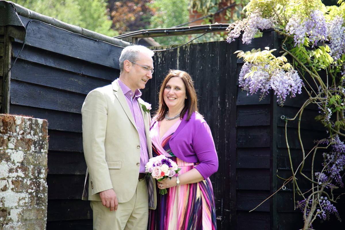 colourful wedding at le talbooth essex colchester