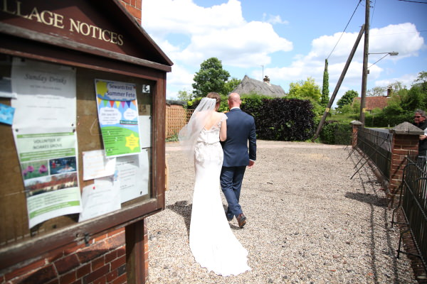 just married at sewards end, essex