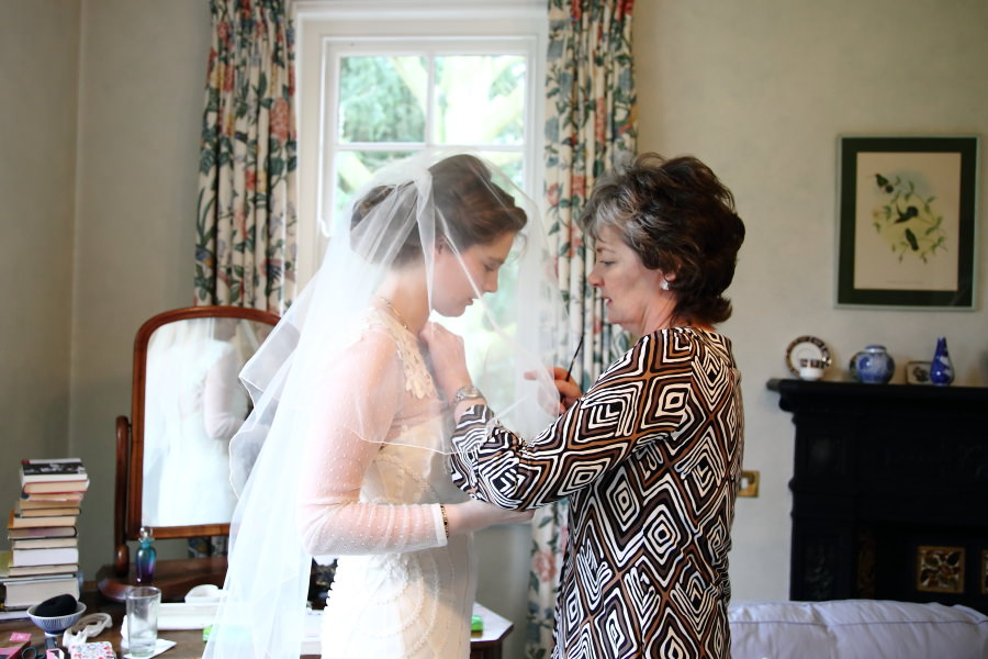 intimate moments birde and mother at wedding bury st edmunds