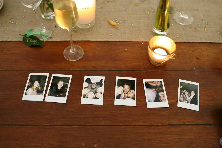 have a polaroid at your wedding for guests to use