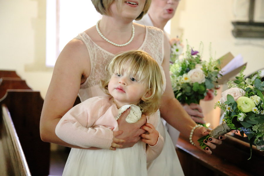 toddler at wedding in essex, documentary wedding photography