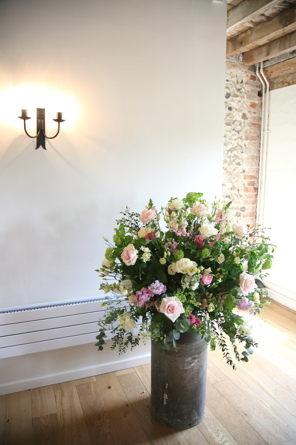 Heather Carpenter flowers at The Granary Barns wedding