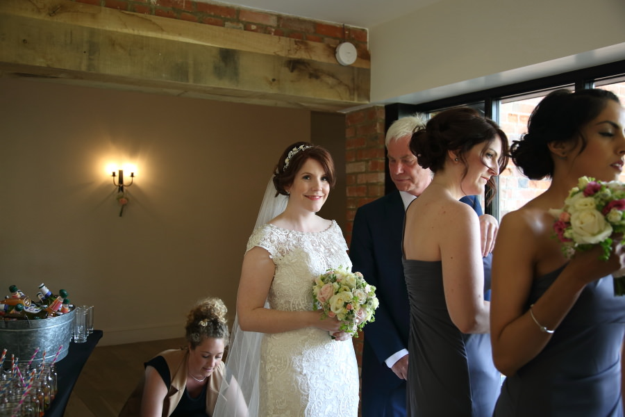 Wedding photography at The Granary Barns, Suffolk