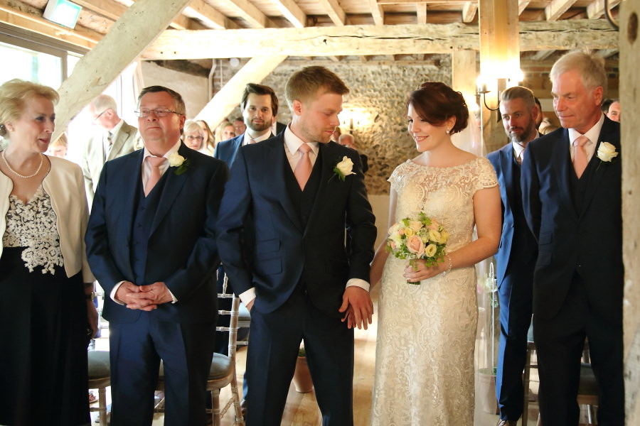 wedding at The Granary Barns, Newmarket, Suffolk