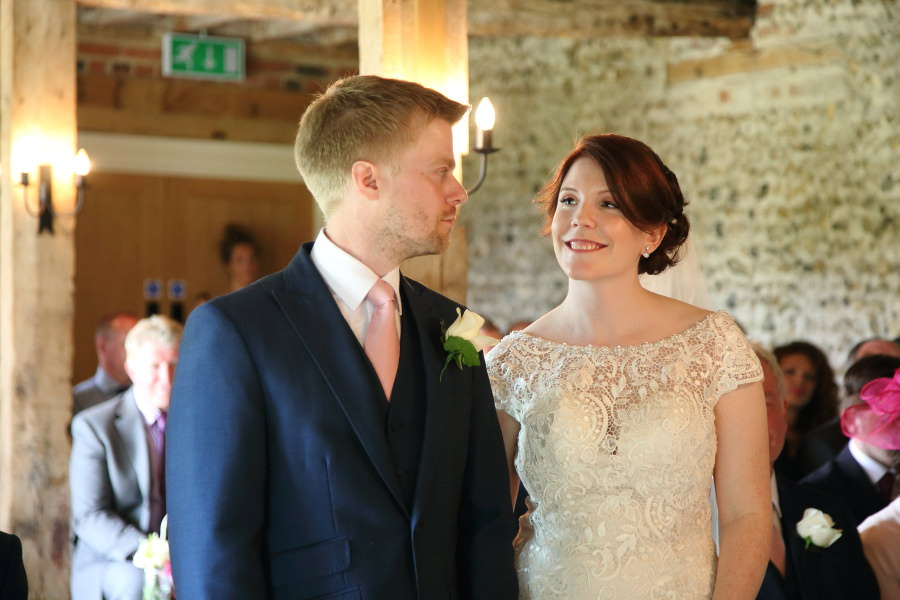 wedding at the granary barns, newmarket suffolk