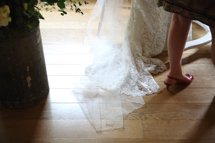 beautiful lace dress detail photography, the granary barns, newmarket suffolk