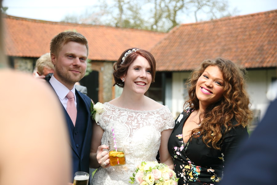 reportage fun wedding photography, the granary barns, suffolk