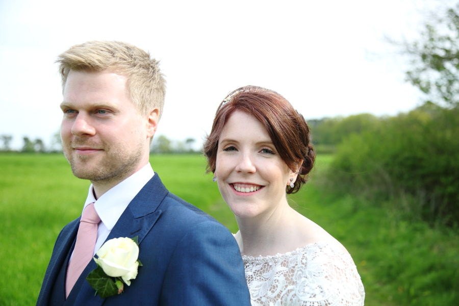 beautiful, natural bride and groom, suffolk wedding photography