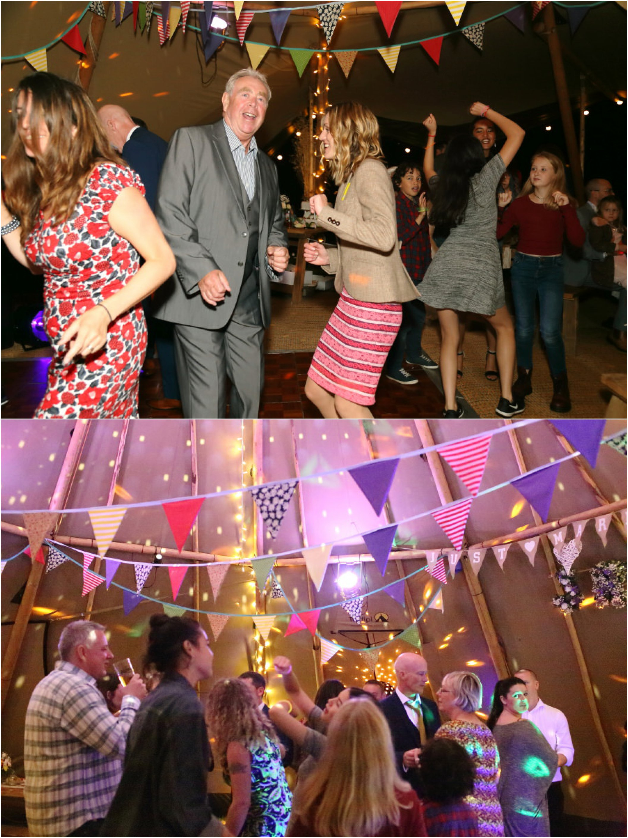 dancing in suffolk tipi wedding