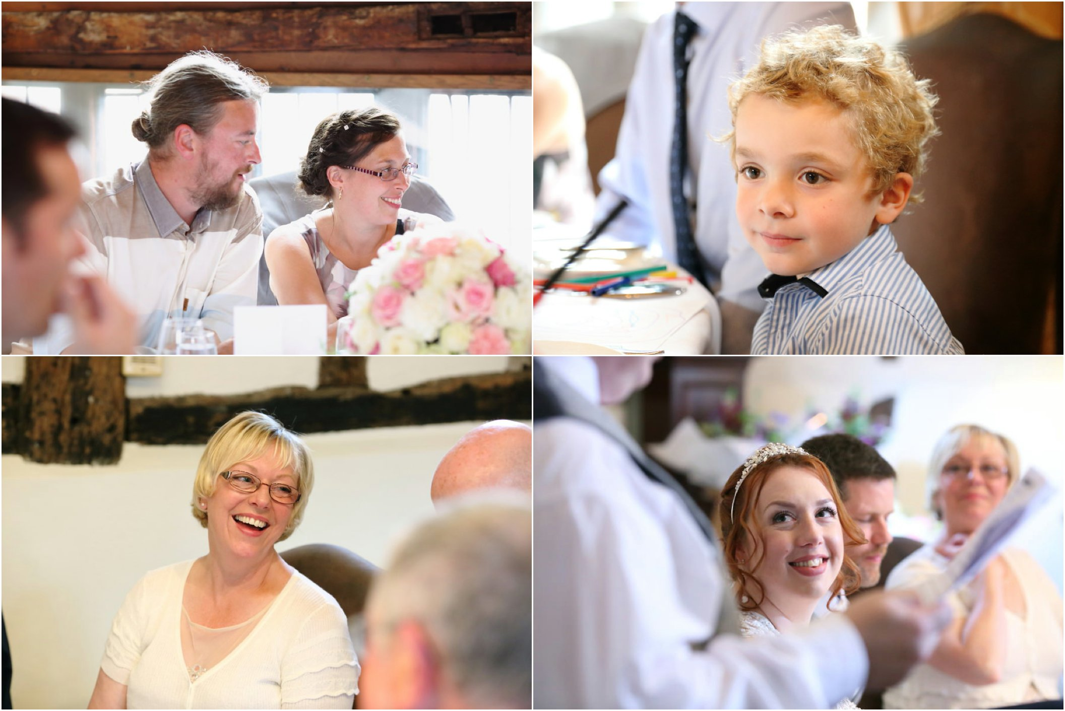 wedding reception photography at Lavenham Swan