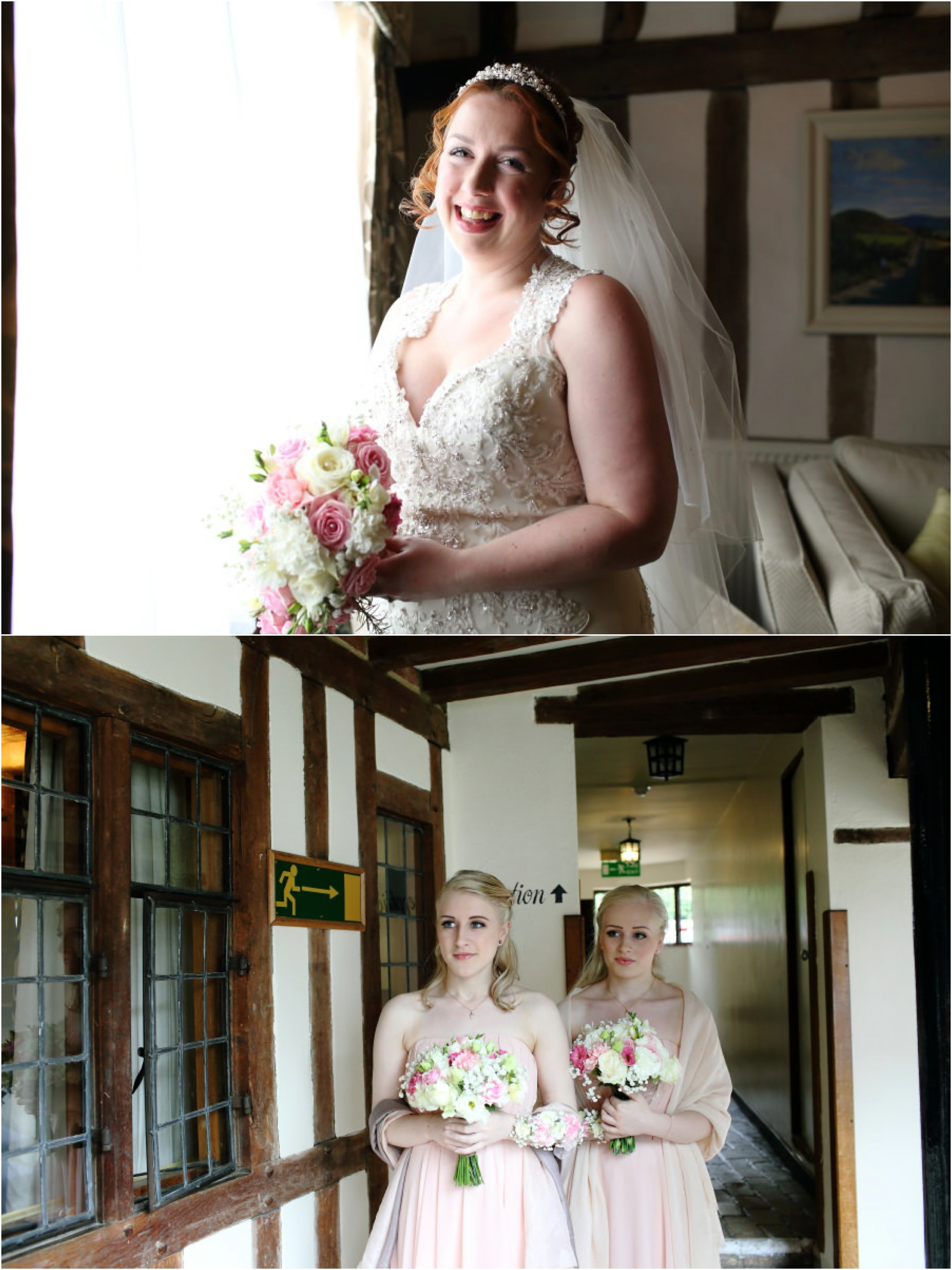Lavenham Swan wedding photography