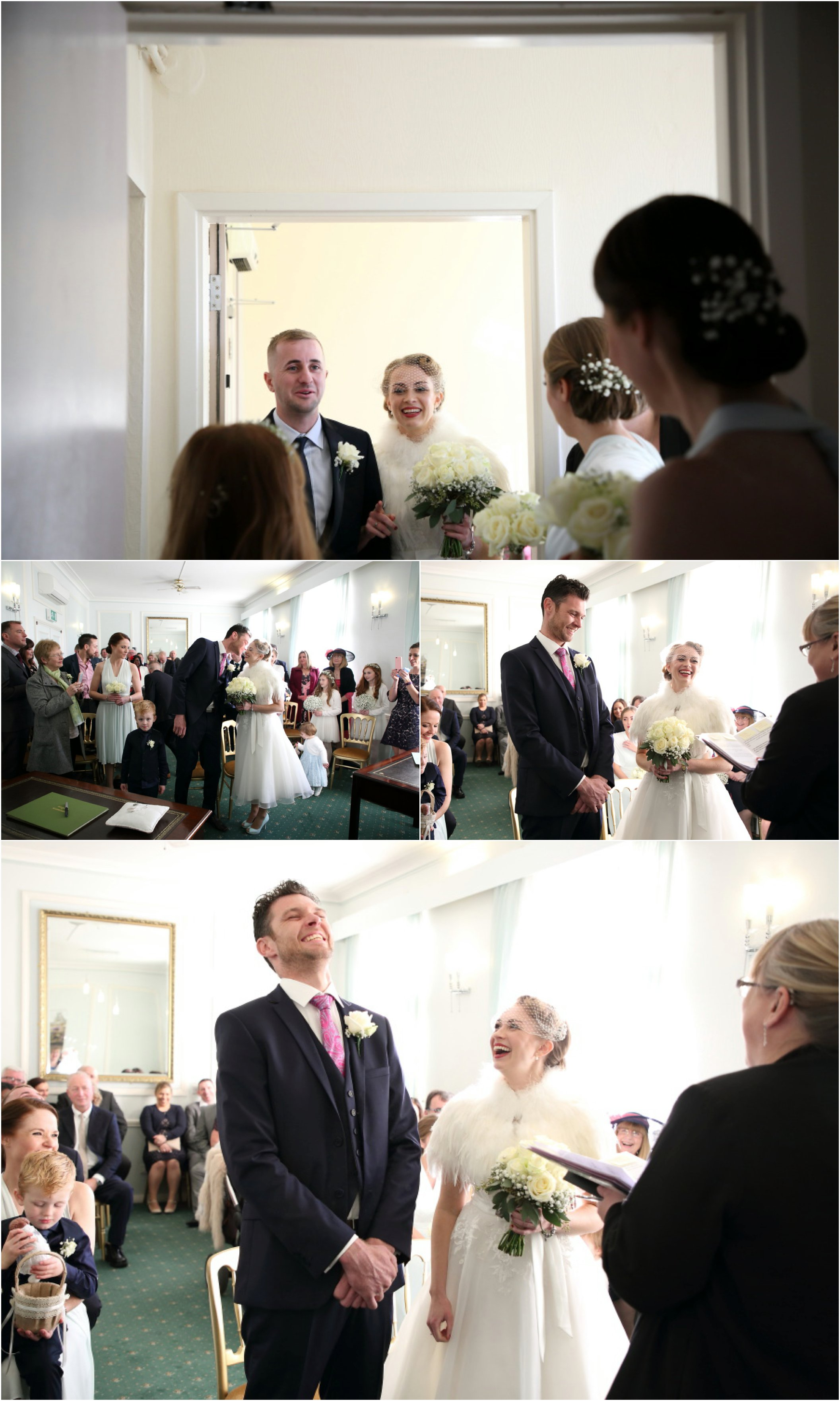 honest fun wedding photography at shire hall cambridge