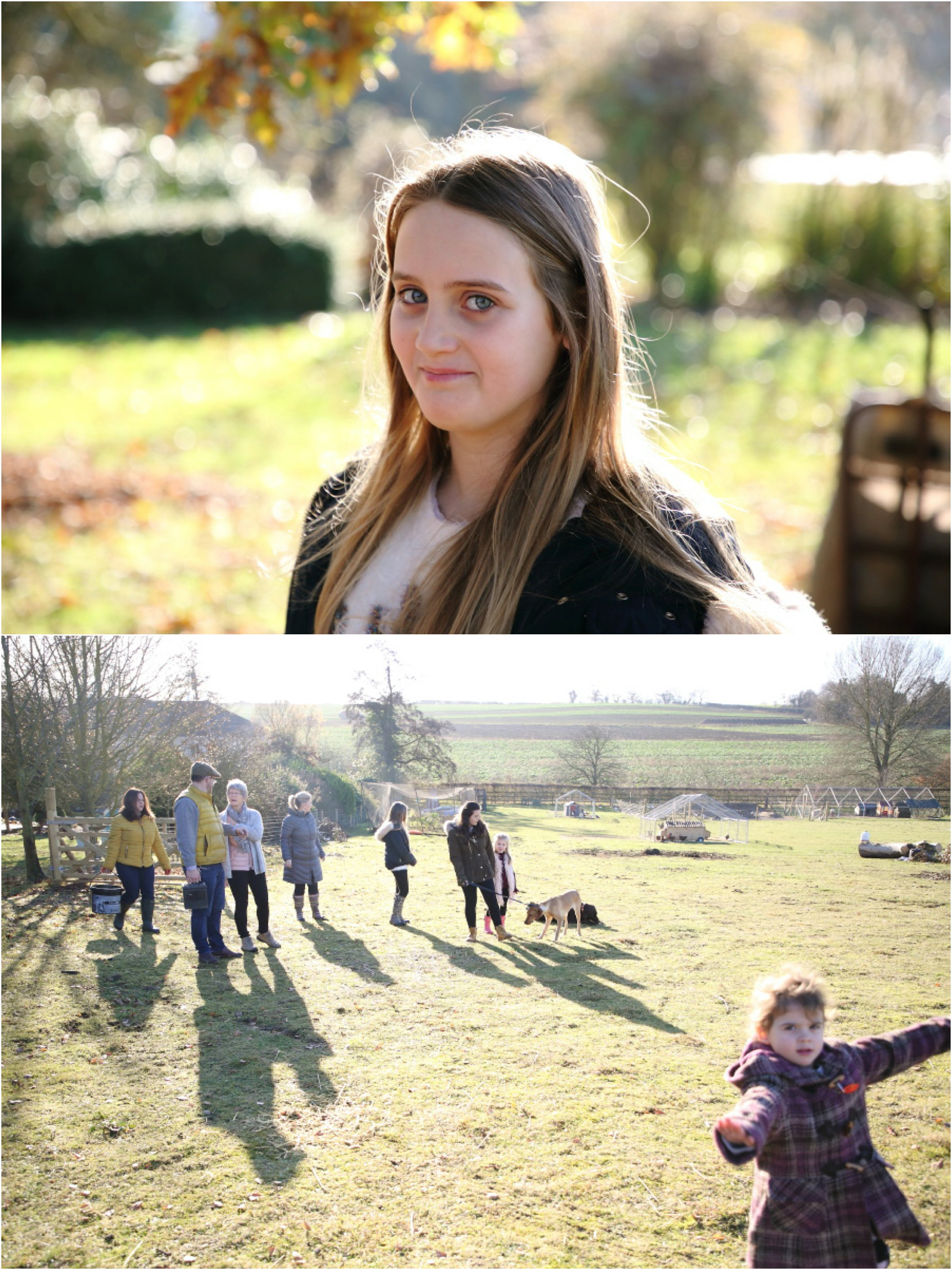 natural fun photography on farm with lovely family, suffolk winter photo shoot