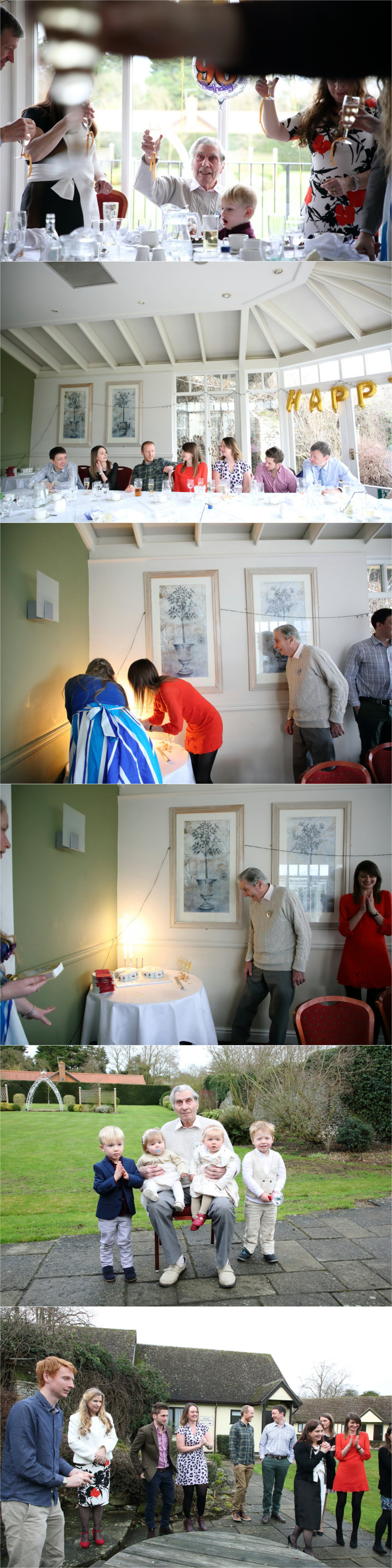 lovely 90th birthday party celebrations in bury st edmunds, relaxed informal photography