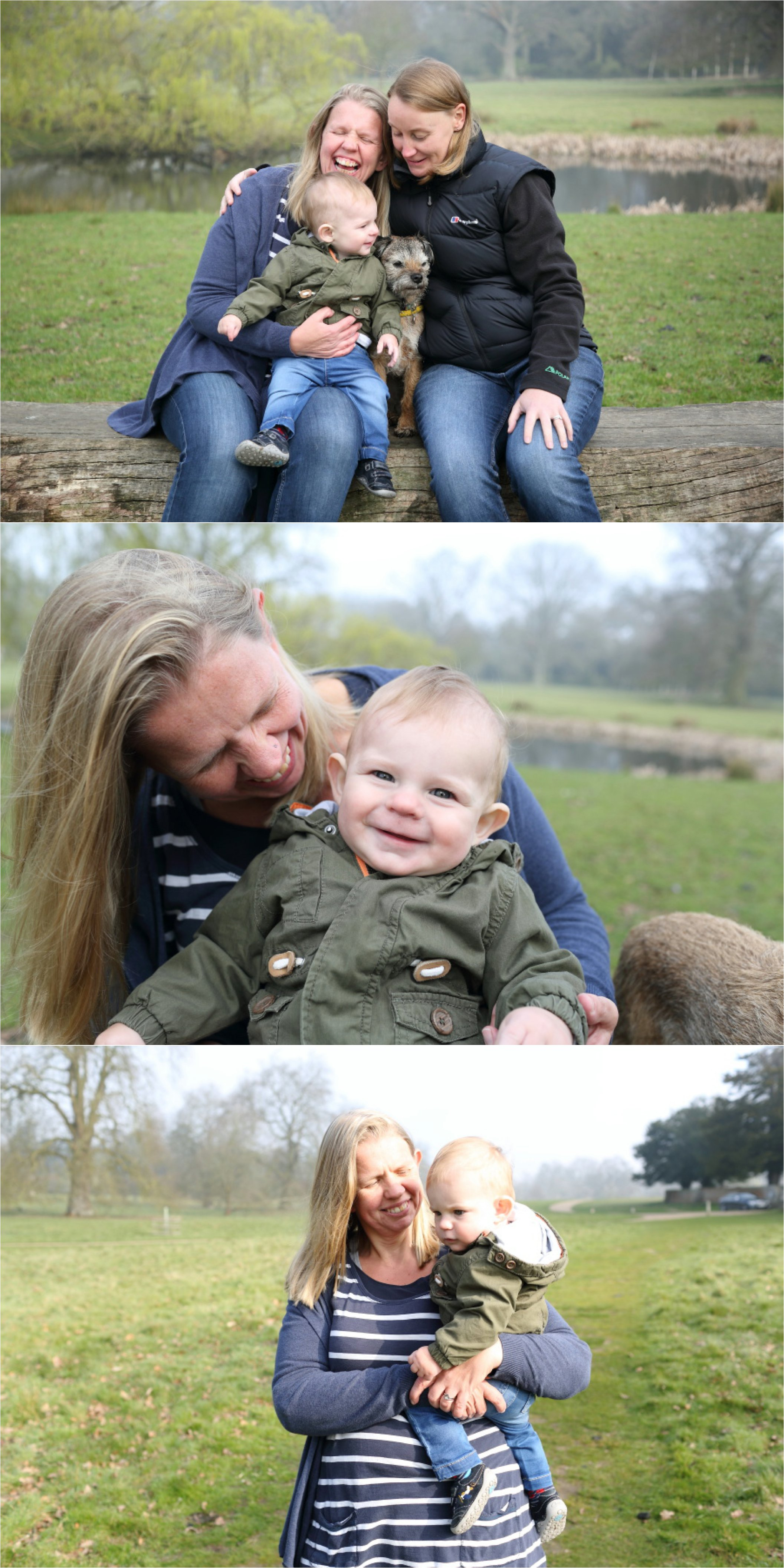 fun relaxed family photo session at Ickworth, Suffolk