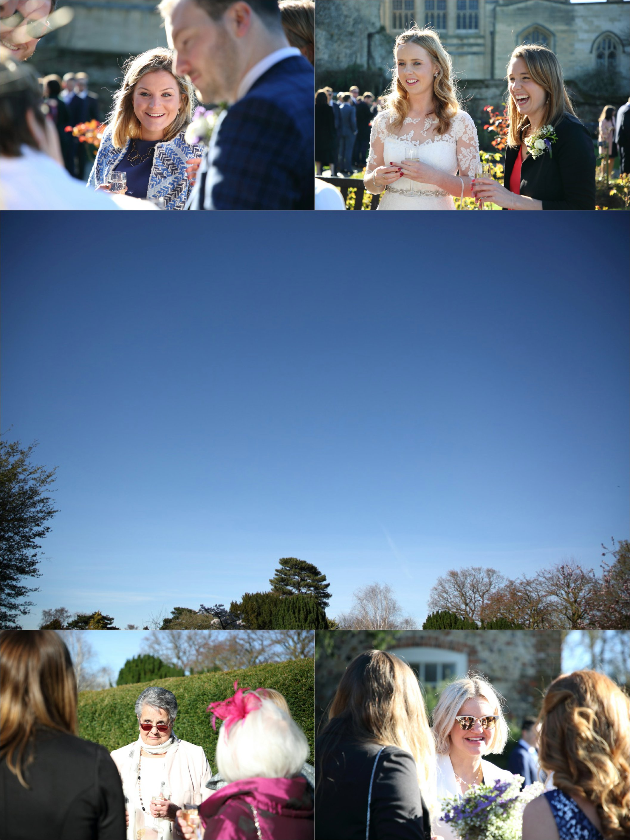 documentary wedding photography in the abbey gardens, bury st edmunds suffolk