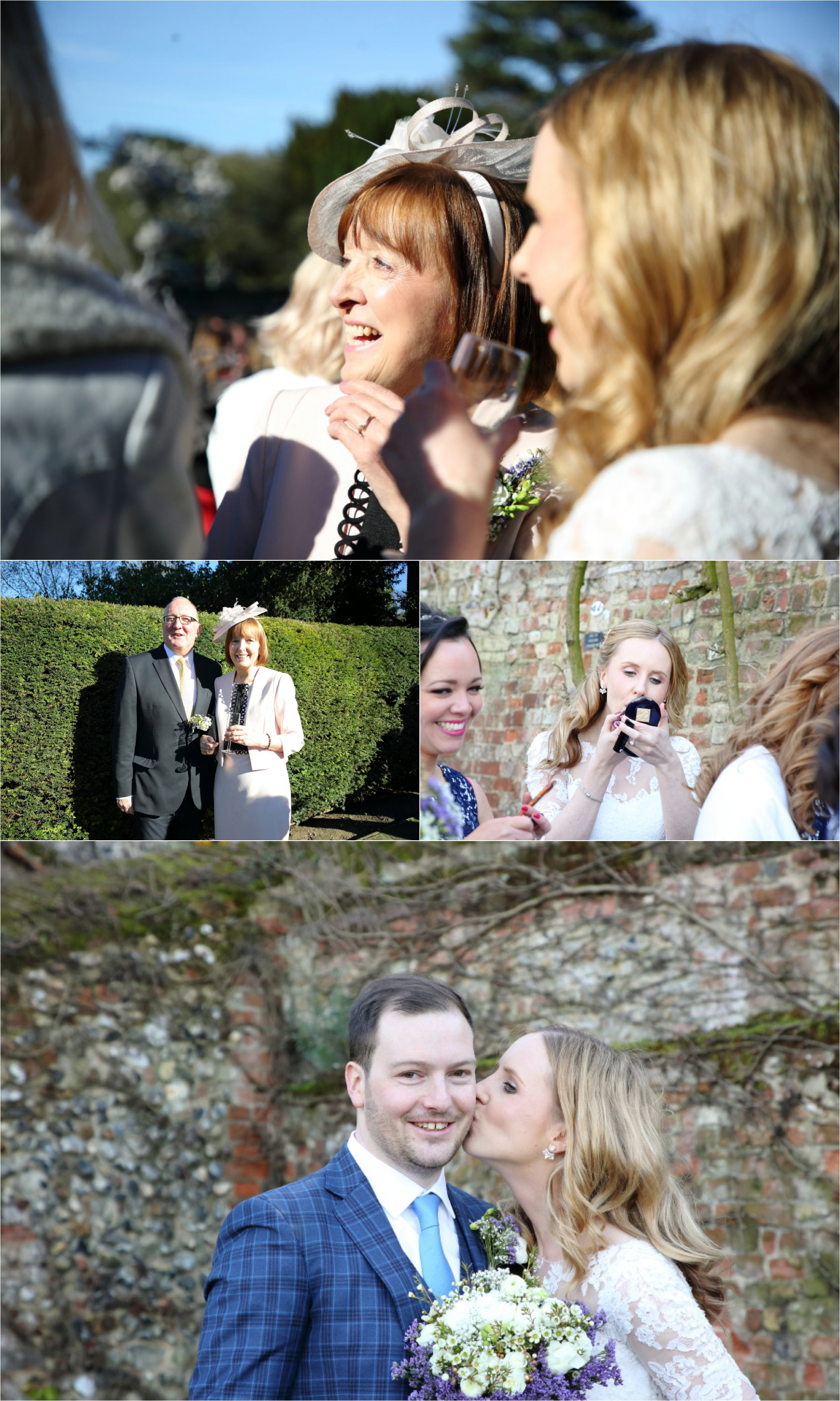 alternative fun wedding photography in the abbey gardens, bury st edmunds