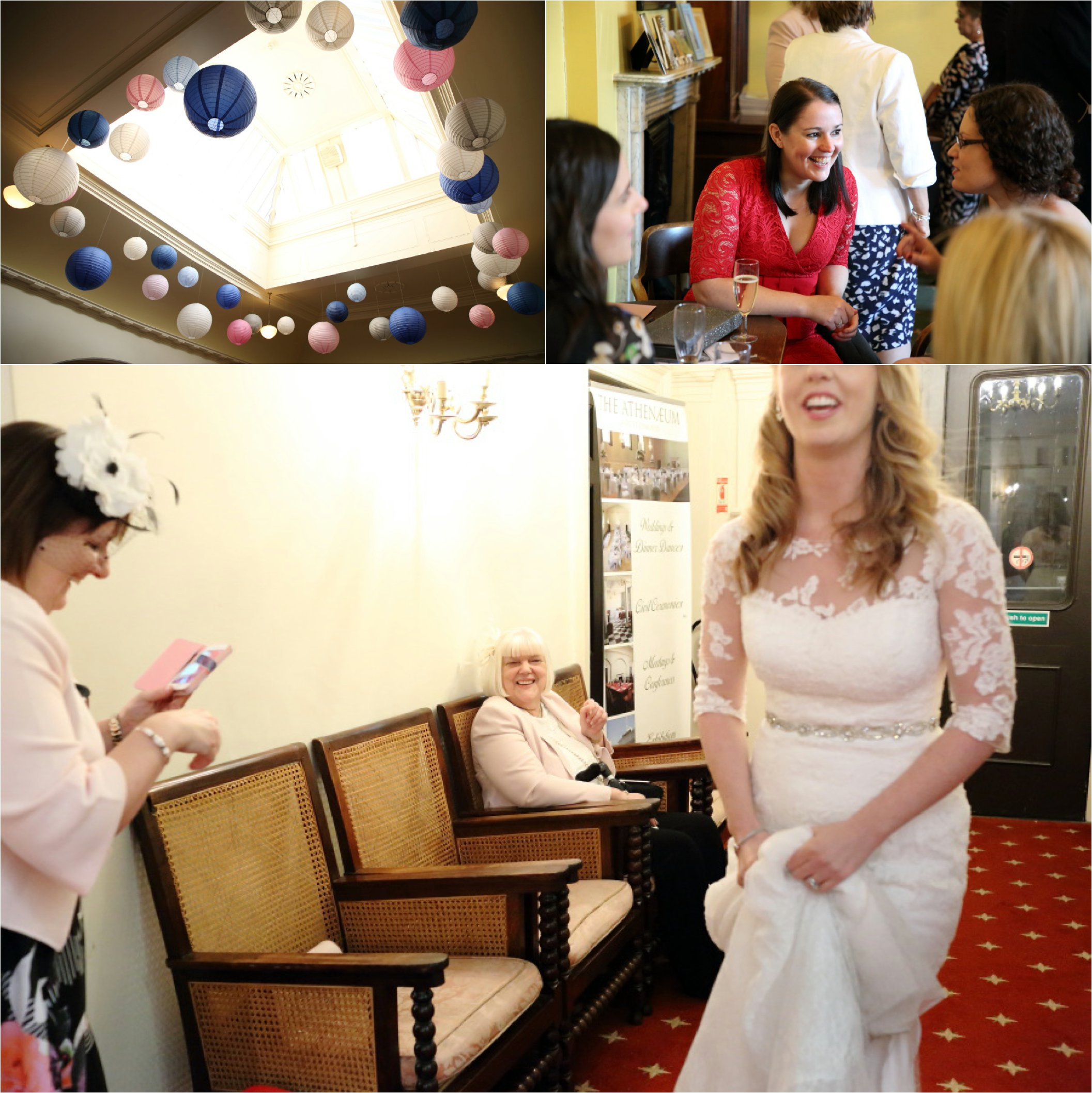 alternative wedding photography at the athenaeum bury st edmunds