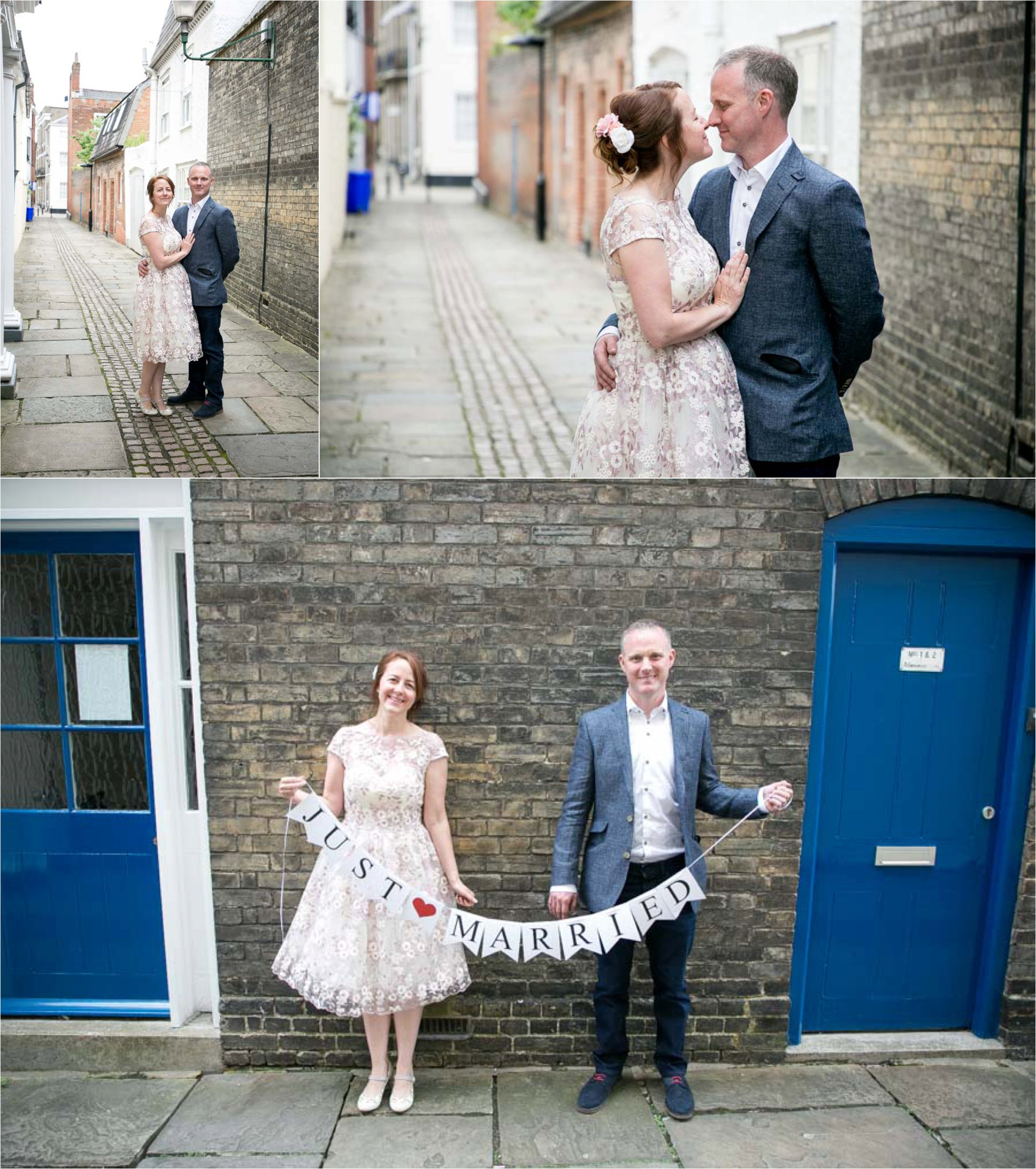 fun romantic wedding photography in bury st edmunds, suffolk. elopement photography