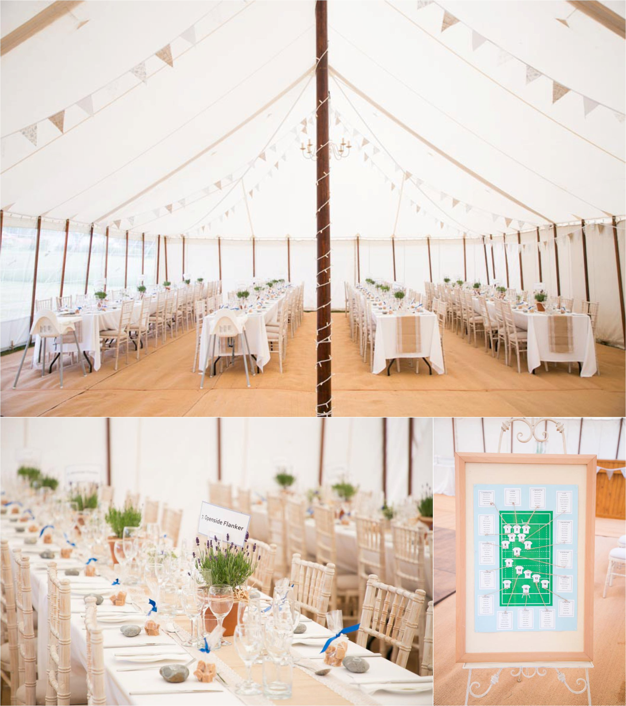 natural marquee wedding photography