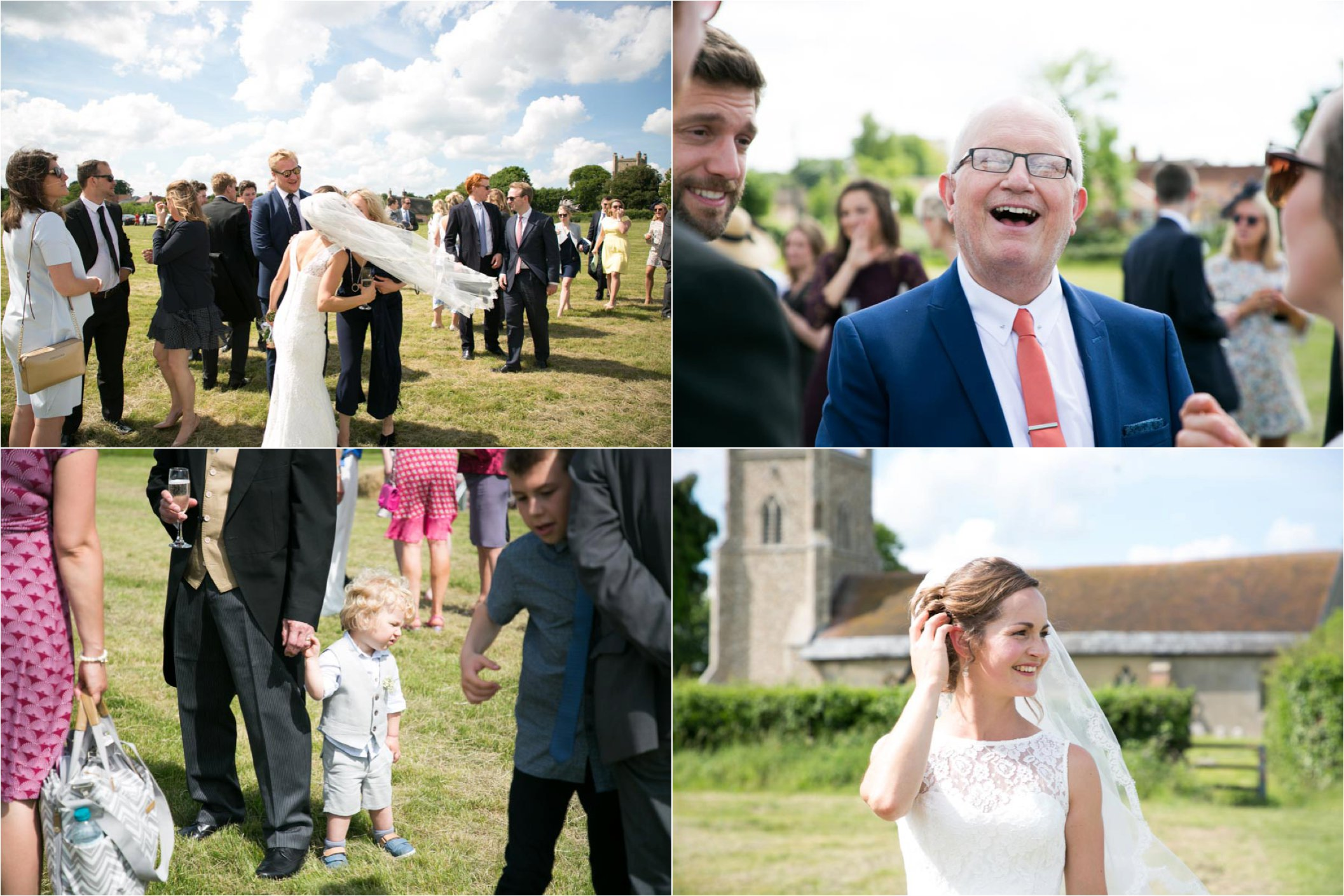 Relaxed aleternative wedding photography suffolk
