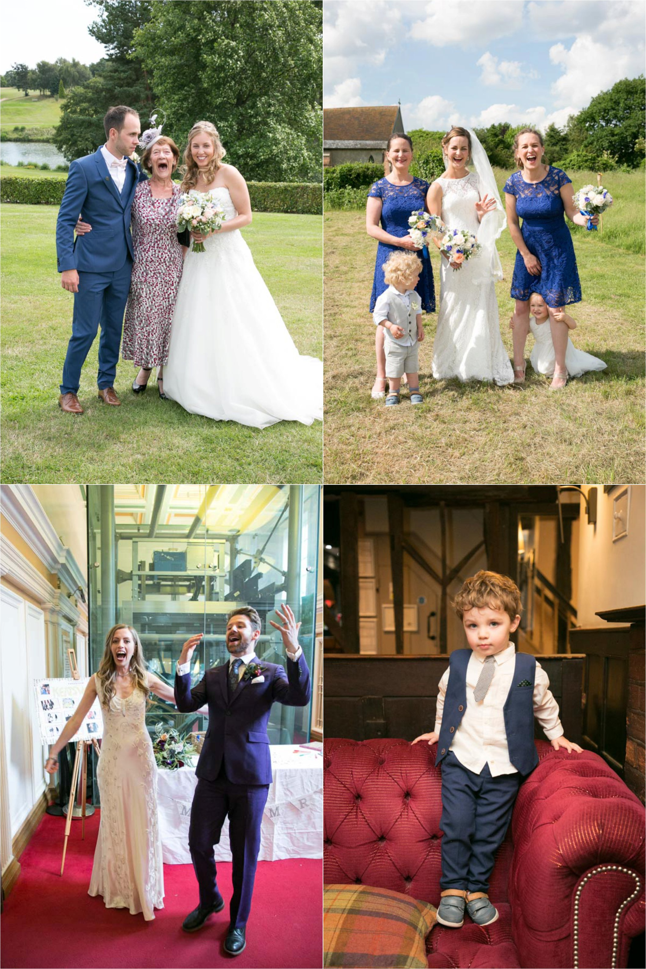 fun group photographs from relaxed weddings suffolk and essex