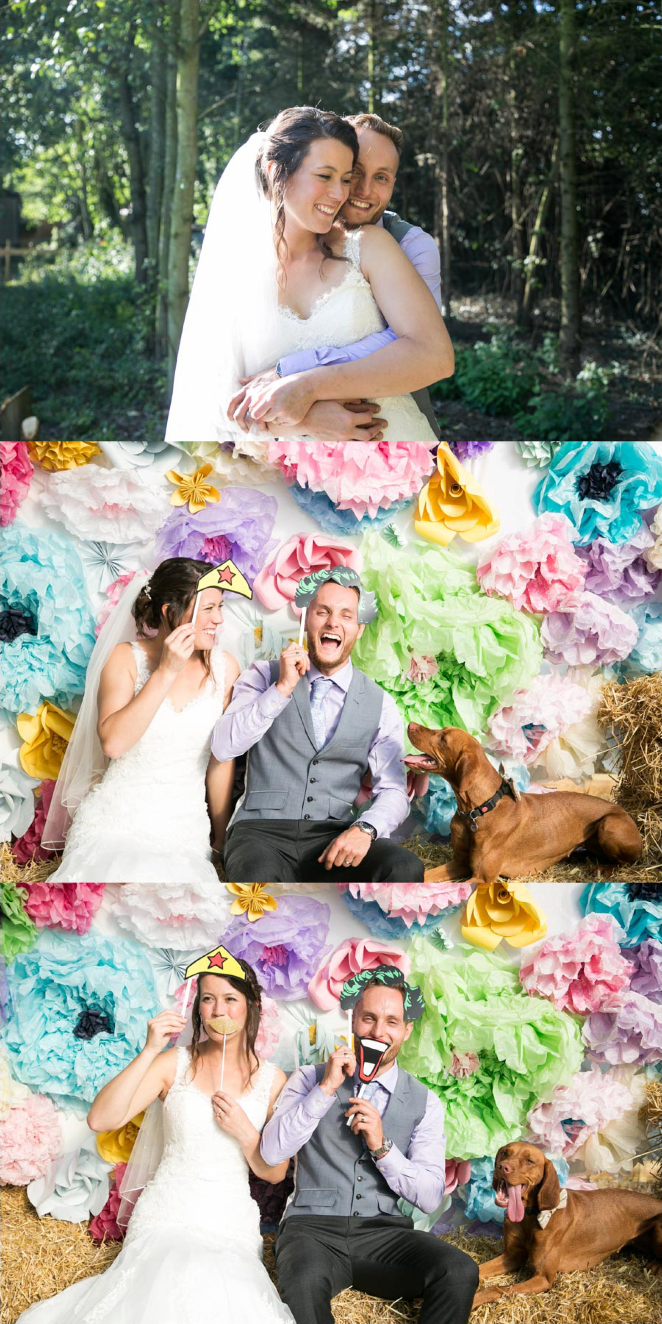 fun relaxed wedding photography farm and bright backdrop