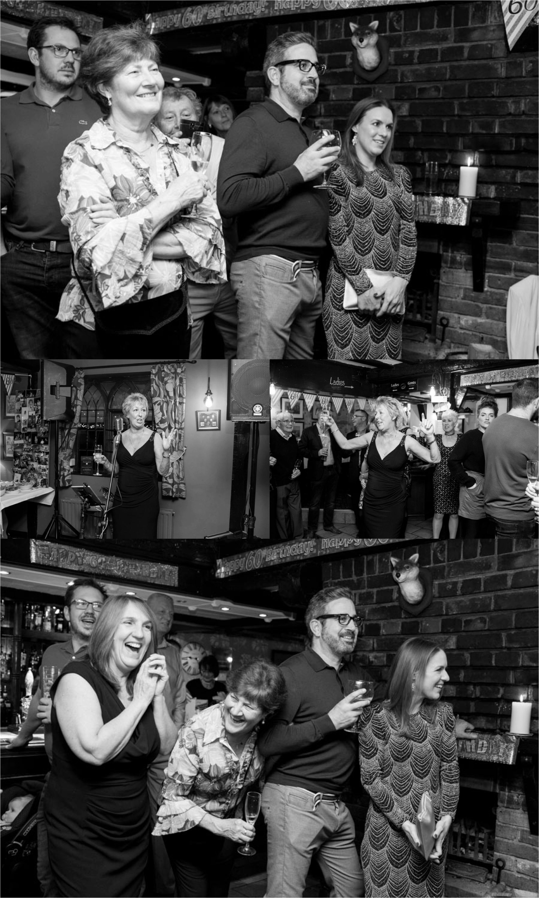 60th birthday party photography in essex