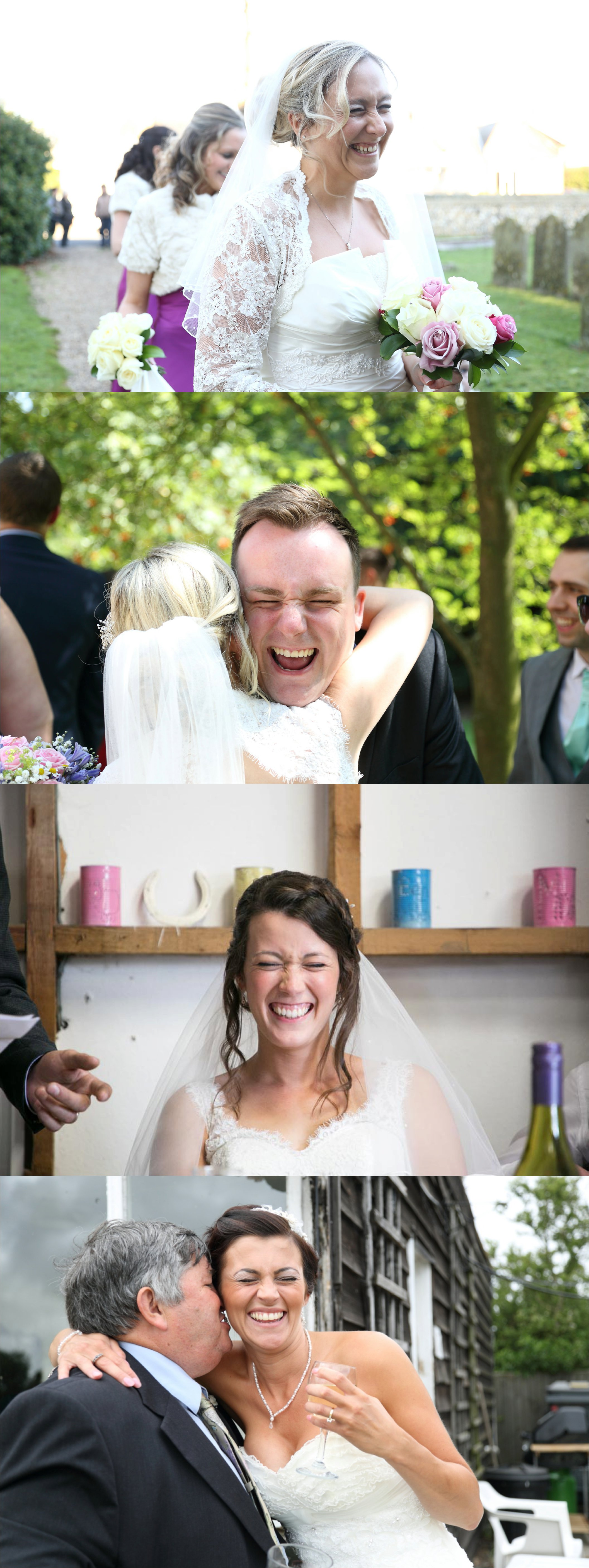 suffolk wedding photography capturing fun laughing expressions