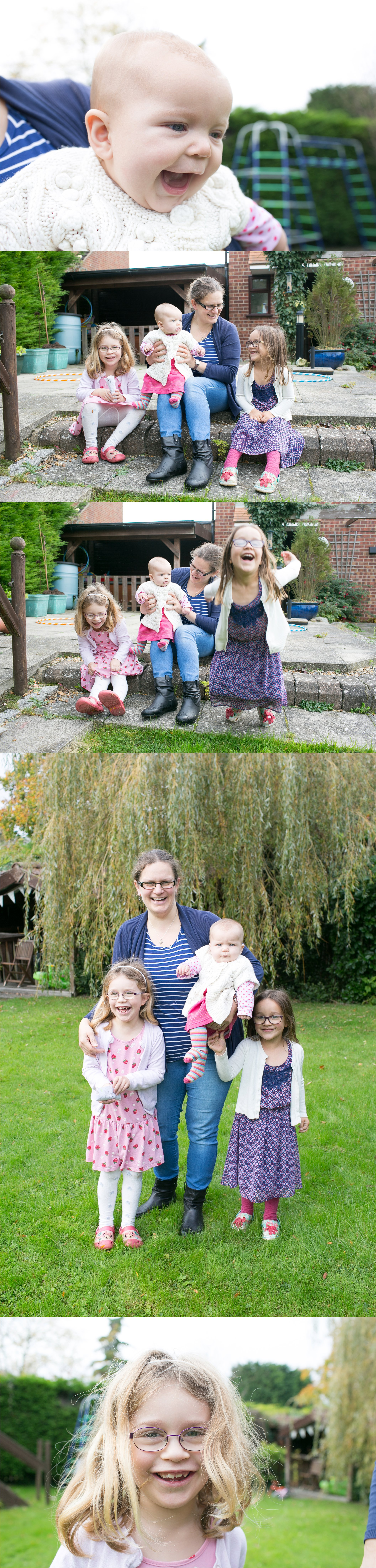 relaxed informal family photograph Haverhill Suffolk