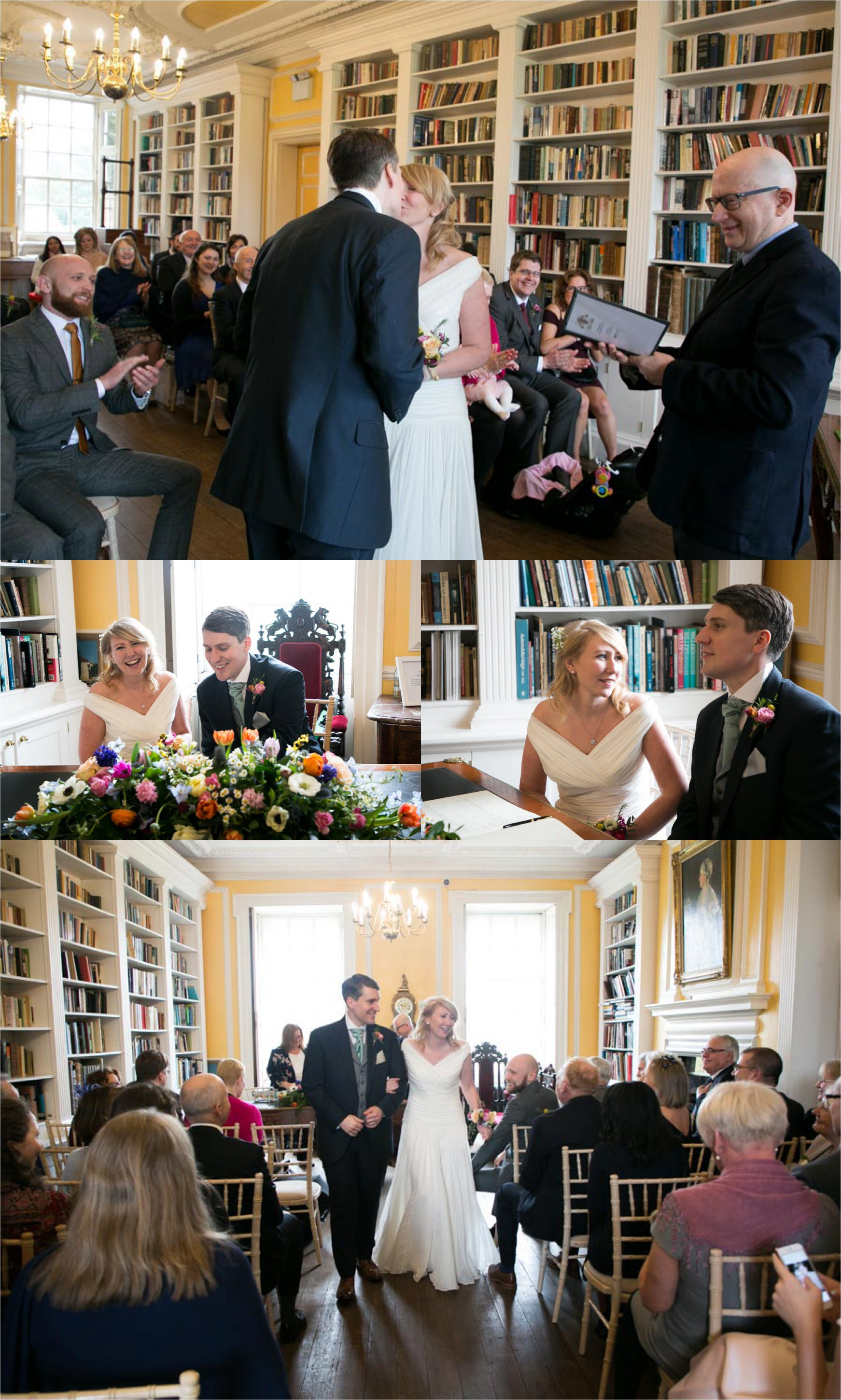 relaxed wedding photography at anstey hall cambridge