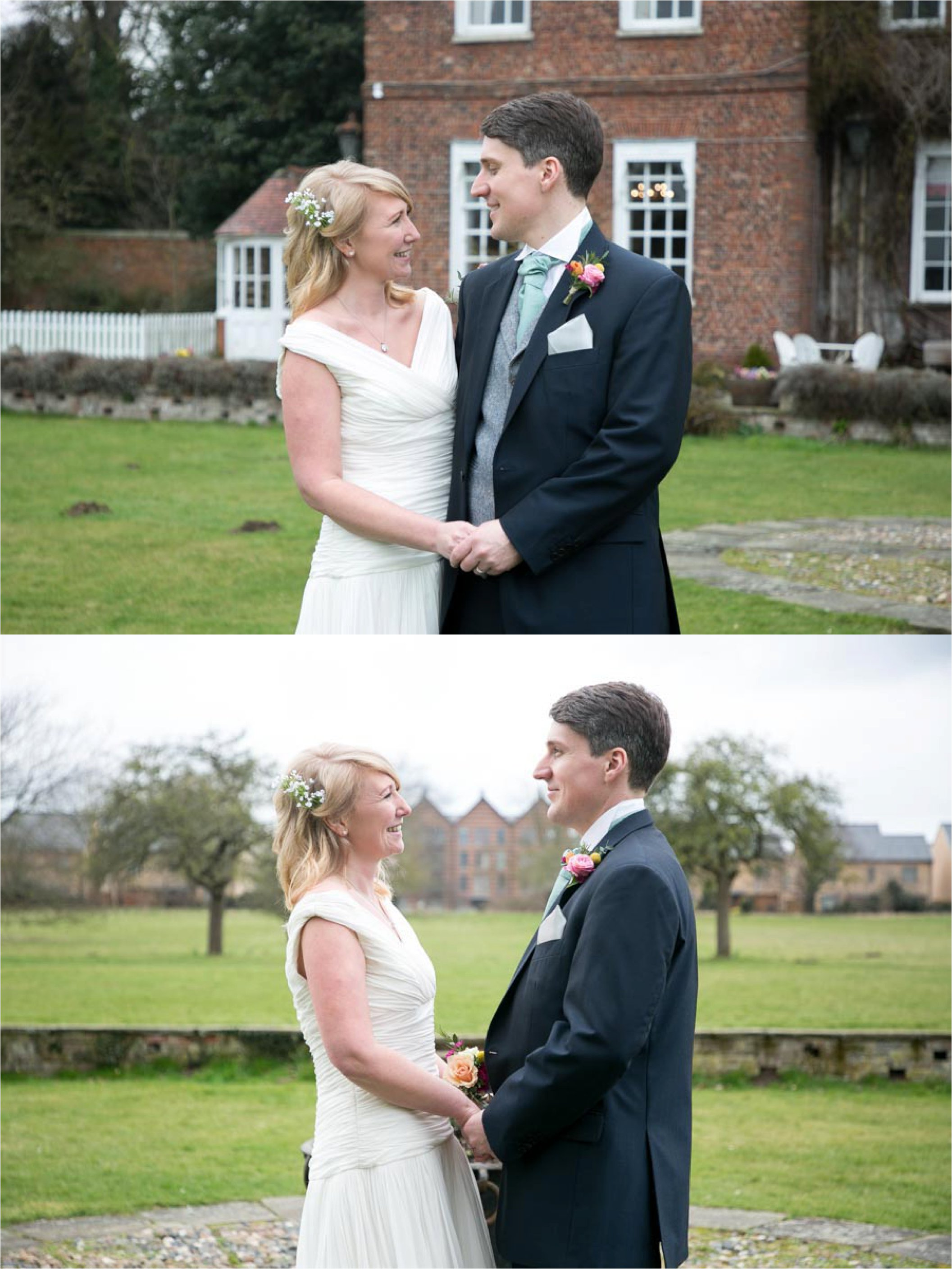 informal wedding photography at anstey hall cambridge