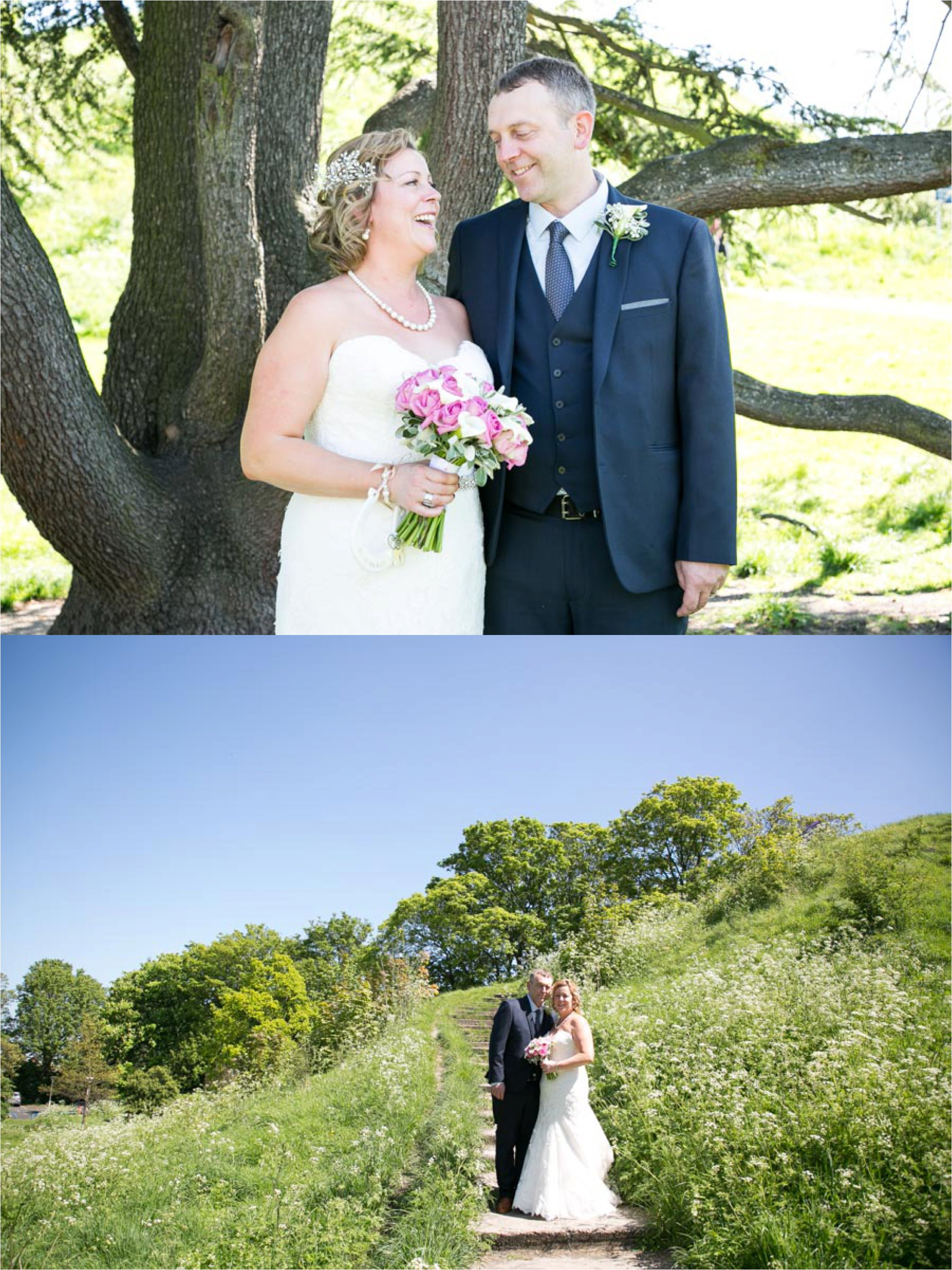 sunny intimate wedding photography at shire hall cambridge
