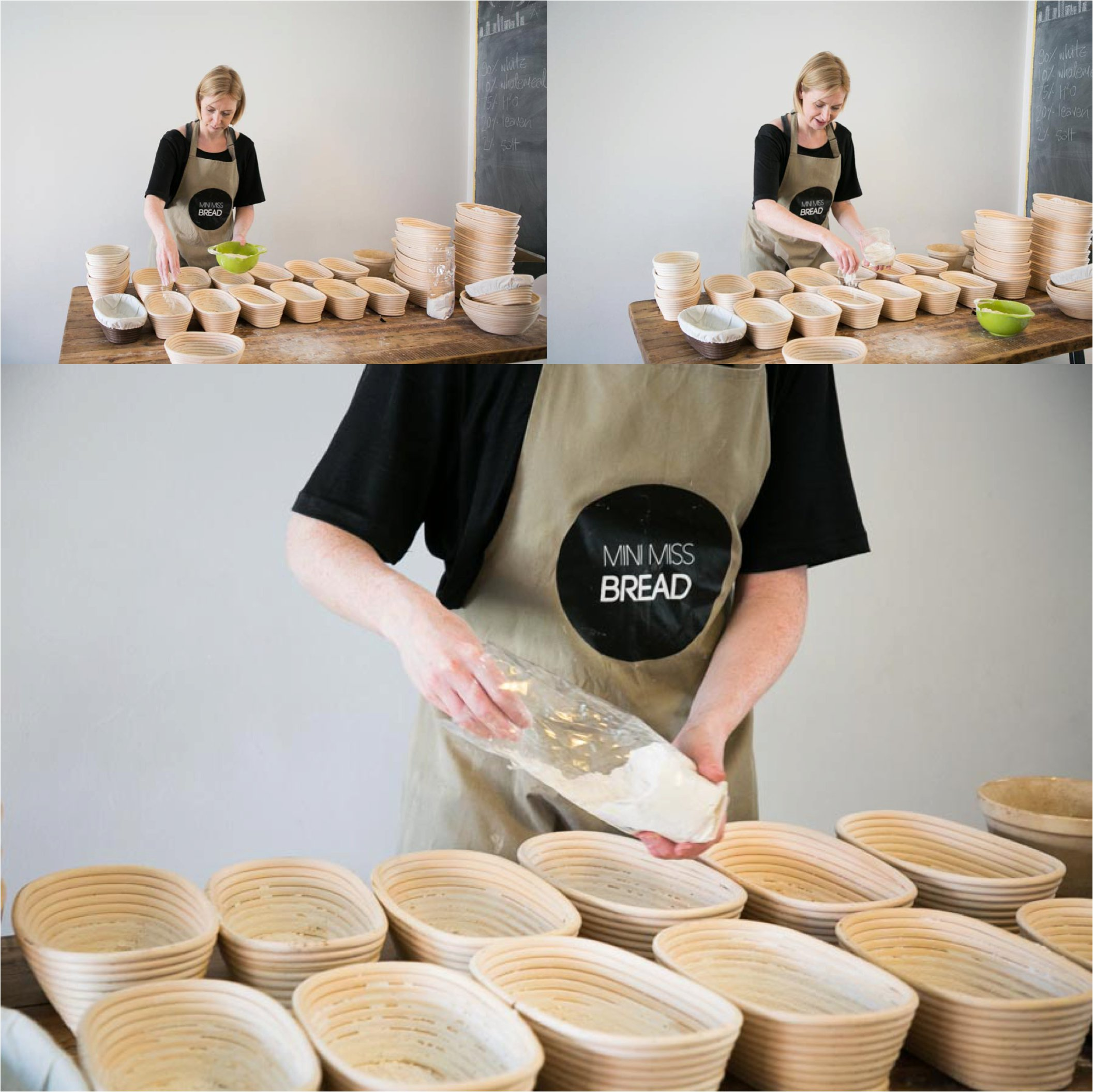 bread making small business photography in saffron walden