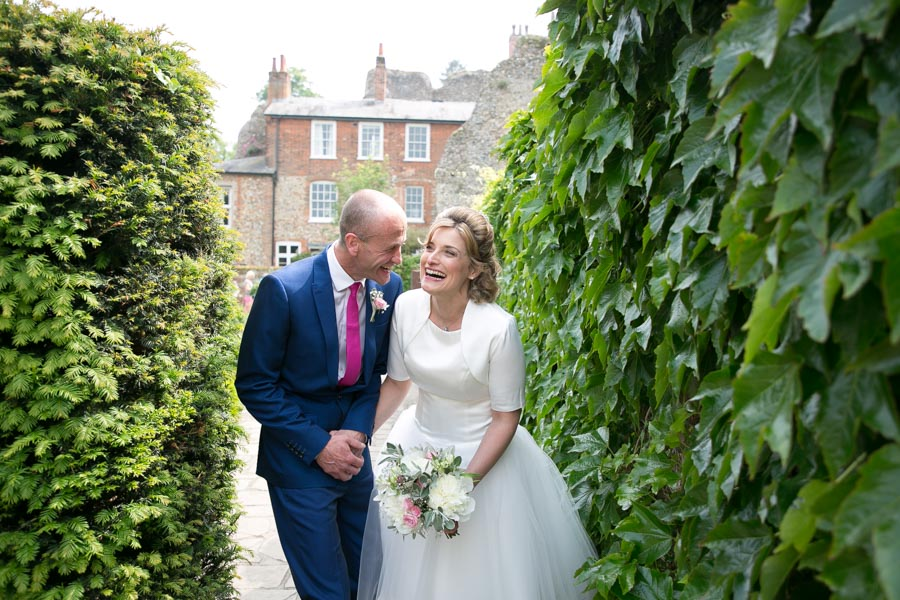 relaxed fun filled wedding photography in Abbey Gardens Bury St Edmunds