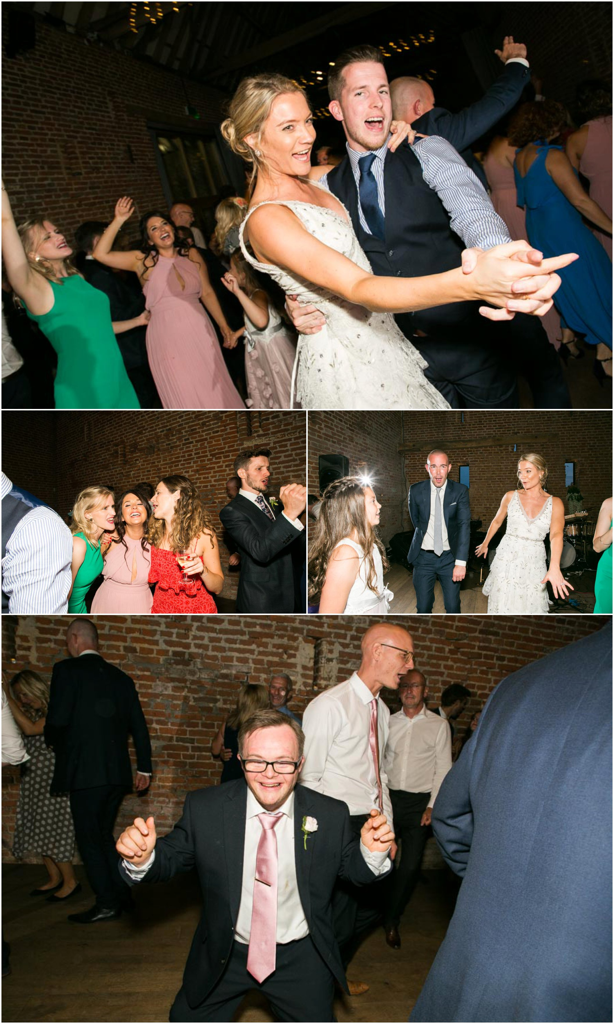 dancing at wedding reception, fun documentary moments of guests