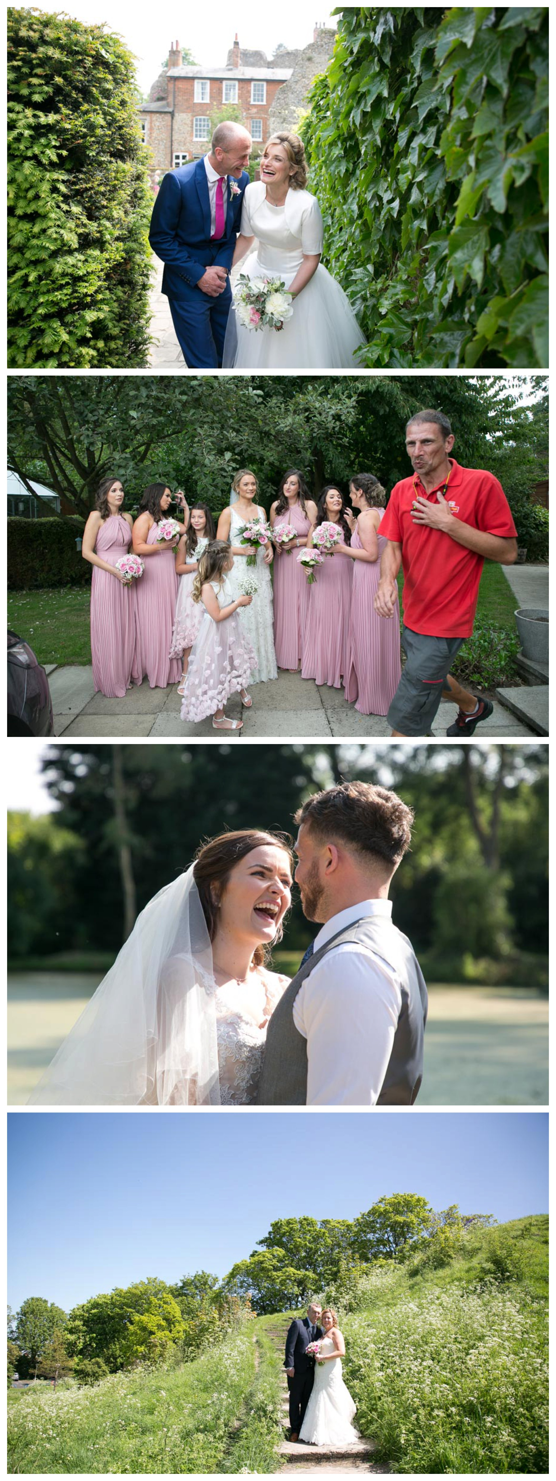 laughing wedding photography, couples smiling