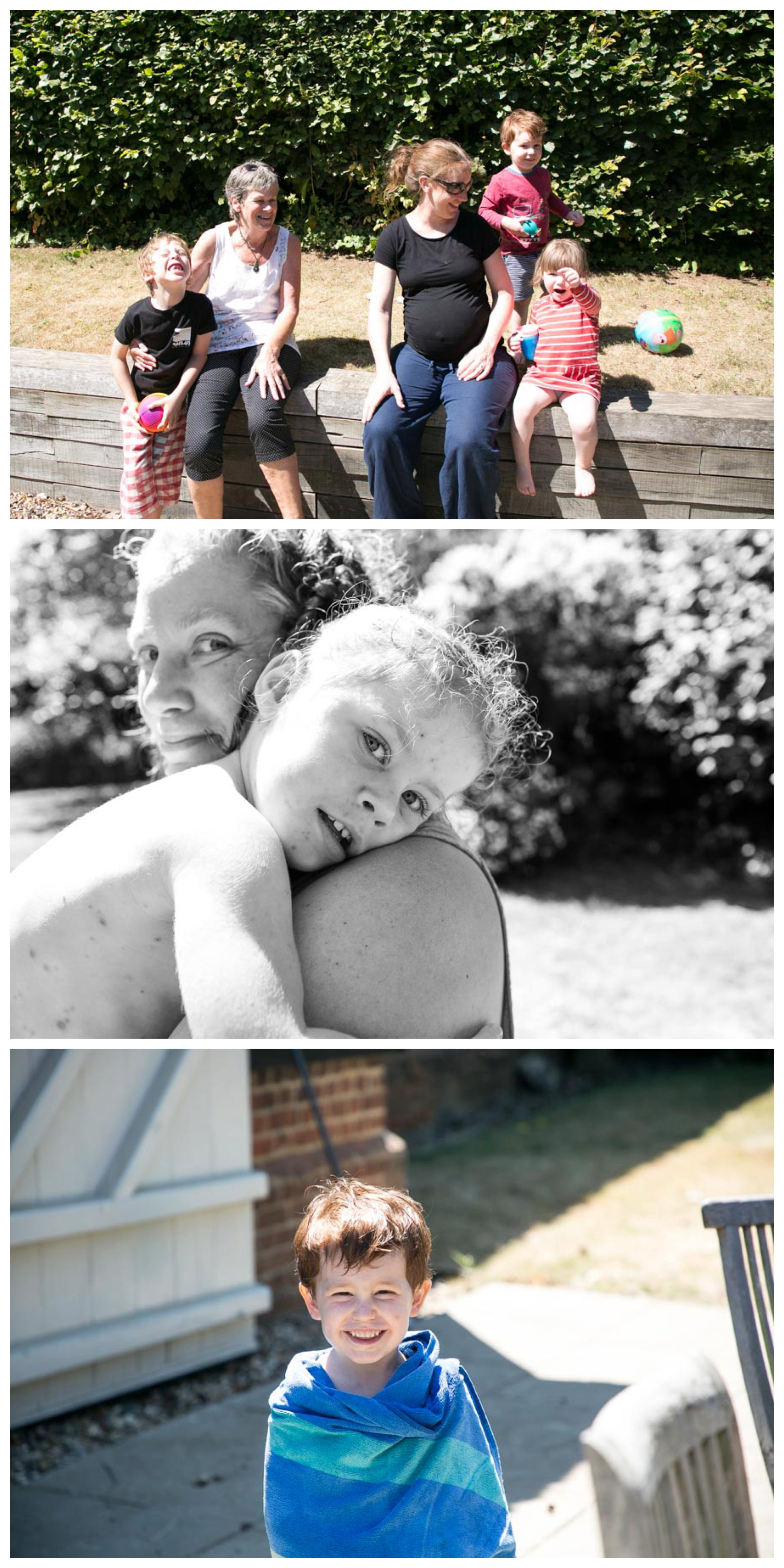 relaxed family photography at suffolk summer holiday