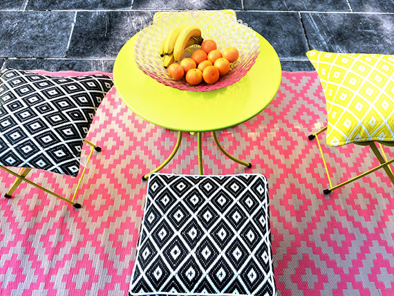 Recycled Plastic Woven Rug