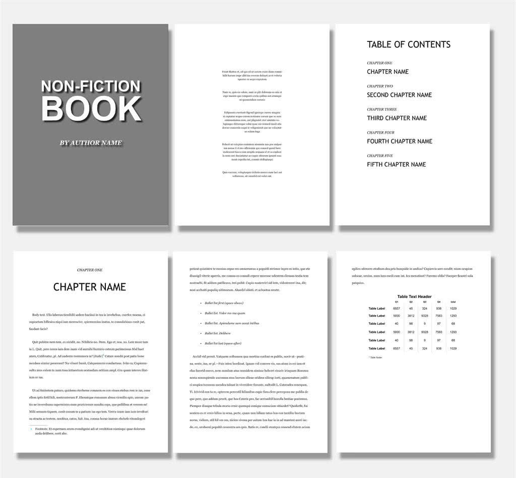65 fresh indesign templates and where to find more redokun for Indesign templates for books