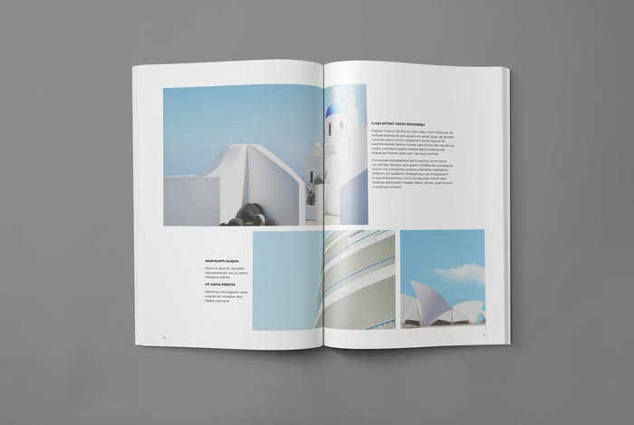 Architecture Magazine InDesign Template Preview