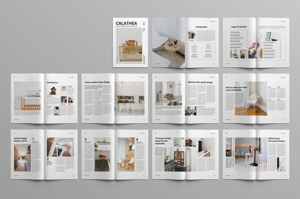 65 Fresh Indesign Templates And Where To Find More Redokun